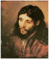 Rembrandt Van Rijn's Head of Christ