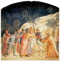 Fra Angelico's The Kiss of Judas