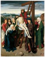 Gerard David's The Deposition