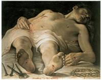 Annibale Carracci's The Dead Christ