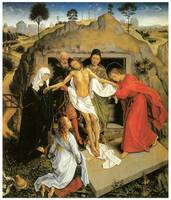 Rogier Van Der Weyden's Entombment of Christ