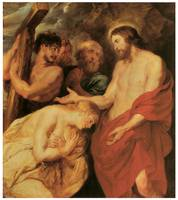Peter Paul Rubens' Christ and the Penitent Sinners