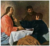 Diego Velazquez' Christ and the Pilgrims of Emmaus