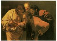 Caravaggio's The Doubting of St. Thomas