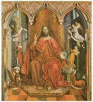 Fernando Gallego's Christ Giving the Blessing