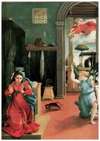 Lorenzo Lotto's The Annunciation