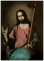 Francisco De Zurbaran's The Savior Blessing