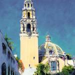 """California Tower by RD Riccoboni"" by BeaconArtWorksCorporation"