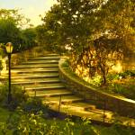 """Stairway to Nirvana, Carl Schurz Park 2008"" by madeline"