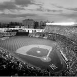 """Yankee Stadium - B&W"" by mypanos"