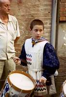 Boy at Palio Parade