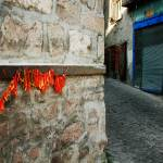 """Dried Red Peppers On A Turkish Street"" by joshuaphotography"