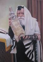 Rebbe with Torah