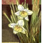 """""""Modern Daffodils"""" by karynlewis"""