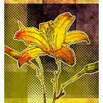 """Modern Tiger Lily Print"" by karynlewis"