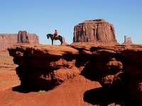 Monument Valley Horseman