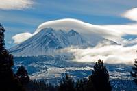Mount Shasta Hard Winter