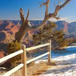 """Grand Canyon Snow"" by BobFikePhoto"