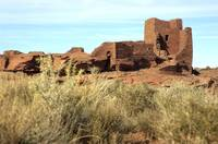 Wupatki Dwellings in Arizona
