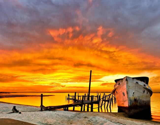 landscape eszra yellow orange beach sunset photography for sale on fine art prints. Black Bedroom Furniture Sets. Home Design Ideas