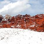 """Red Rock Snow, Panoramic No. 2"" by PadgettGallery"