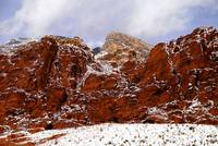 Snow at Calico Hills