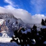 """Red Rock Snow, Panoramic No. 1"" by PadgettGallery"