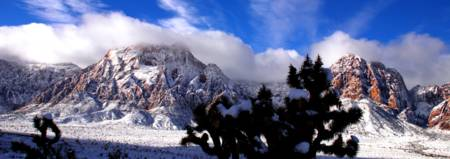 Red Rock Snow, Panoramic No. 1