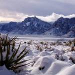 """Red Rock Snow, Panoramic No. 3"" by PadgettGallery"