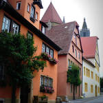 """Rothenburg Houses"" by Groecar"