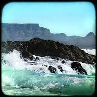 Table Mountain Waves Crashing