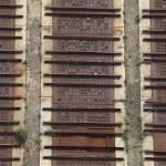 """Croton Dam Grate #1"" by Land-aid"