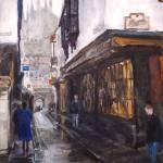 """Castle View, Canterbury"" by edwardobermueller"
