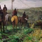 """Horses Crossing"" by edwardobermueller"