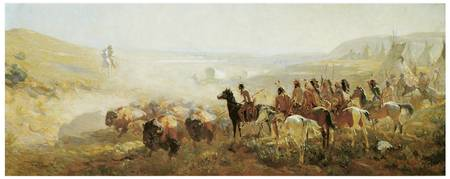 Irving R. Bacon's The Conquest of the Prairie