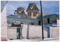 Edward Hopper's St. Francis Towers, Santa Fe