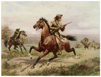 Louis Maurer's Buffalo Bill Fighting Indians