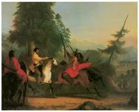 Alfred Jacob Miller's Meeting Indian Chief