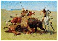 Frederic Remington's The Buffalo Hunt