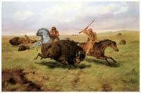 Arthur Fitzwilliam Tait's Buffalo Hunt