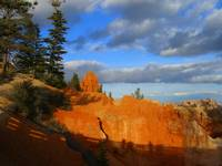 Bryce Canyon shadows and light