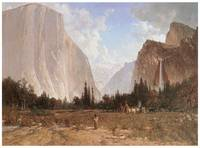 Thomas Hill's Bridal Veil Falls, Yosemite