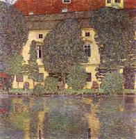 Gustav Klimt's Castle at the Attersee