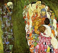 Gustav Klimt's Death and Life