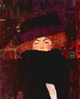 Gustav Klimt's Lady with Hat