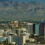 """Tucson Skyline from A Mountain"" by kphotos"