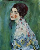 Gustav Klimt's Portrait of a Lady