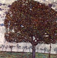 Gustav Klimt's The Apple Tree