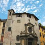 """Small Church in Lucca 8X12"" by Land-aid"