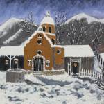 """Old Mission in Winter"" by marycollins"